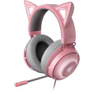 Razer粉晶色北海巨妖蓝牙版 头戴式耳机
