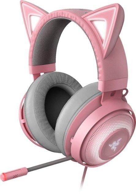 海妖粉晶版 头戴式耳机