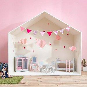$17.99起史低价:Teamson Design Corp 娃娃屋可爱家具、宝宝房家具