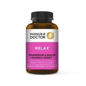 Manuka Doctor放松舒缓保健品 含镁和维生素B3 30粒