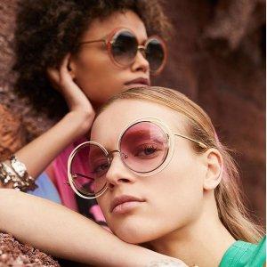 低至2折 Chloe经典墨镜$108限今天:Gilt 大牌眼镜、墨镜热卖,Gucci、MiuMiu都参加