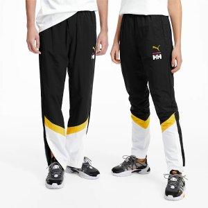 HH合作款拼色运动裤