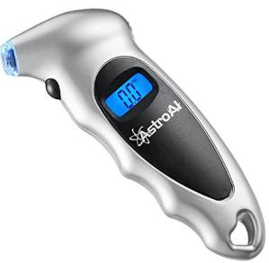 闪购!销量冠军$12.74(原价$17.99)AstroAI 电子胎压计带LCD背光