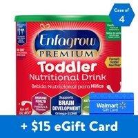 Enfagrow 幼儿 Premium香草味奶粉24盎司*4罐