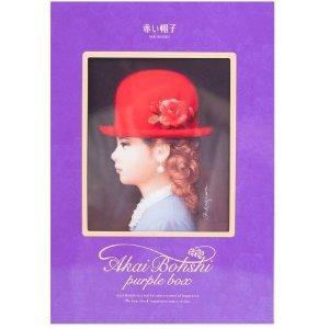 TIVOLINA Akai Bohshi Mixed Cookie Gift Box Purple Box 16pc