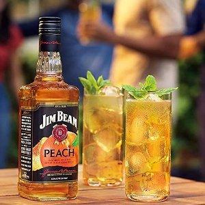 700ml售价€13 威士忌也少女心最适合夏天的酒!Jim Beam 桃子波本威士忌!新品上市!