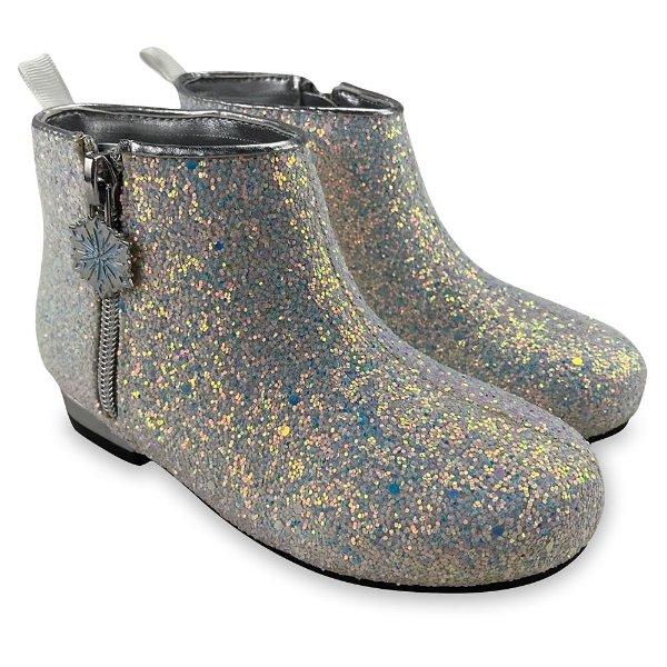 Frozen 2 亮闪女童靴