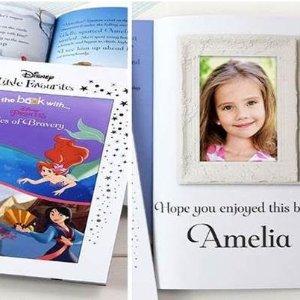 低至5折 £6.49收英文童书3款迪士尼、漫威故事书热促 可订制收礼人姓名和照片