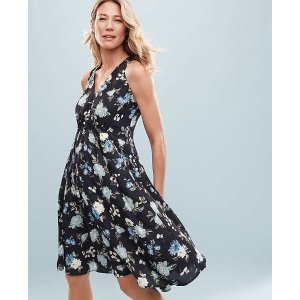 Ann Taylor Extra 20% Off $100Ruched Midi Dress