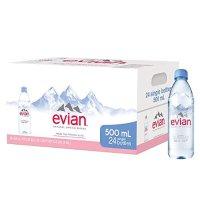 Evian 矿泉水 24 瓶 500 ml
