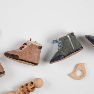 5折起Robeez 婴儿软底靴子促销 市面少见的适合学步婴儿的靴子