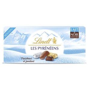 Lindt冰山巧克力 牛奶+黑巧克力混合口味