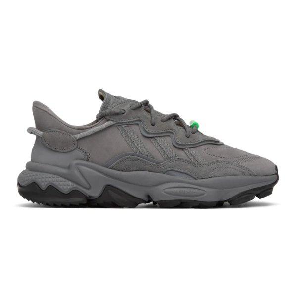 灰色老爹鞋