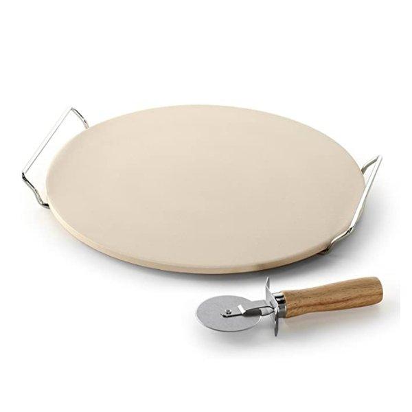 石质披萨烤盘、披萨刀组合