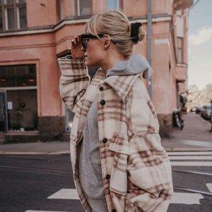 3折起 €6.99收乐福鞋H&M 秋冬新款毛衣、开衫大促 法式高级优雅在此