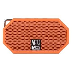 Altec Lansing IMW257-ORG Mini H2O Waterproof, Sand proof, Snow proof and Shockproof Bluetooth Speaker, Orange by Altec Lansing