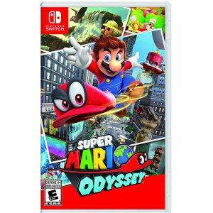 $54.99(原价$79.99)《超级马里奥奥德赛》Nintendo Switch 实体版游戏