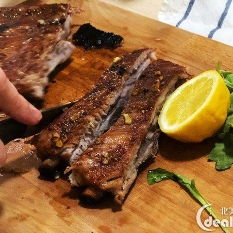Bone-meat Seperate DishHomemade Roast Pork Ribs