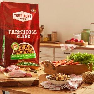 第一件5折 + 订阅9.5折True Acre Foods 成年狗粮30磅 2种口味可选