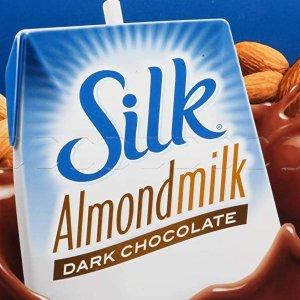 Silk Organic Original Almond Milk 8oz 18pks