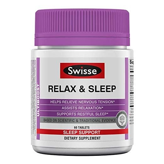 新款 天然助眠+放松保健品 60粒