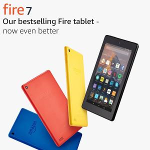 现价£29.99(原价£49.99)Amazon Fire 7 平板