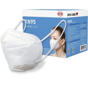 低至$2.49BYD 一次性三层口罩、KN95、儿童口罩、免洗洗手液等促销