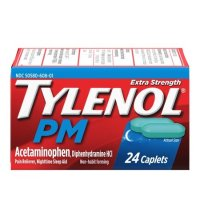 Tylenol PM 止痛助眠药丸, 24 ct