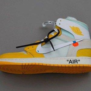 传闻成真 即将开启发售Off-white X Air Jordan1 金丝雀配色 你期不期待