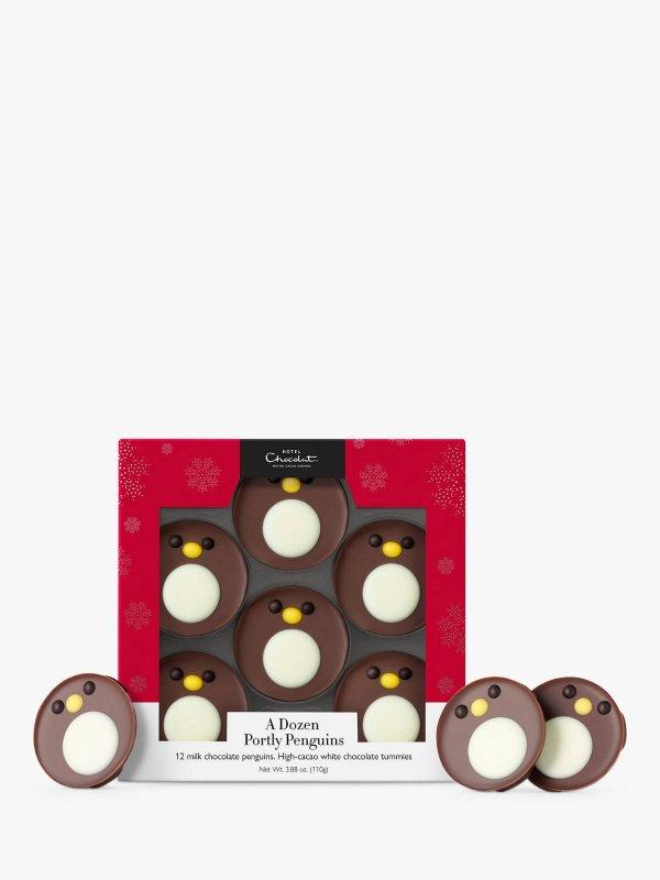 Hotel Chocolat小企鹅巧克力套装, 110g