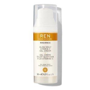 Ren Clean Skincare$25 off $100Glow Daily Vitamin C Gel Cream Moisturizer