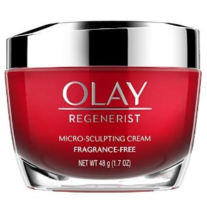 OlayAnti-Aging Face Moisturizer Cream by Olay Regenerist, Micro-Sculpting & Fragrance-Free 1.7 Ounces (packaging may vary)