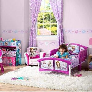 $69.99+免邮Disney 迪士尼 冰雪奇缘 卡通儿童床 小公主就要睡公主床