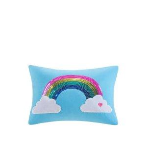 12  x 16 英寸彩虹抱枕
