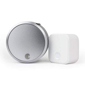 $164.5限今天:August 智能门锁 Pro  + Connect连接器