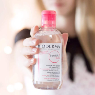 BIODERMA 500ml ULTRA-MILD NON-RINSE CLEANSER FOR FACE & EYES (VERY DRY SENSITIVE SKIN) @ COSME-DE.COM