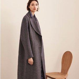 £59起收加绒外套 £135起收羊绒大衣Arket 北欧风简约大衣外套上新 让你潇洒温暖一秋冬