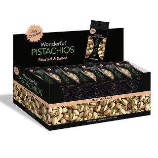 $14.48 一天一包身体好Wonderful Pistachios 轻盐烤开心果1.5oz, 24包