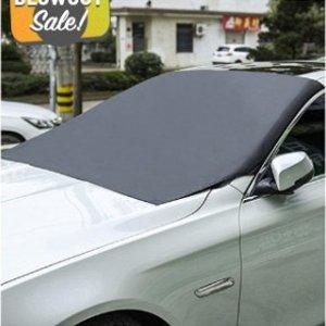 $9.6(原价$68)最后一天:磁性挡风玻璃罩 夏天遮阳 冬天挡雪 适用于各种车型