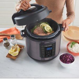 Crock-Pot 6 Qt 8-in-1 Multi-Use Express Crock Programmable Pressure Cooker