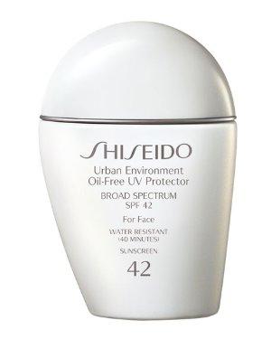 $33 Shiseido Urban Environment Oil-Free UV Protector SPF 42  @ Bergdorf Goodman