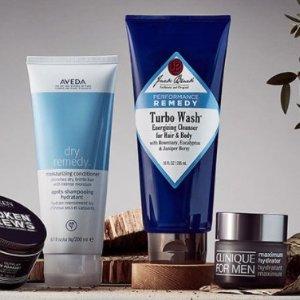 全场8折,海盐洁净膏收起来Mankind 精选美容护发、口腔护理产品热销