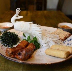 52折 £35精致双人餐三道菜温莎1423城堡里的中餐厅 装修归来新晋网红