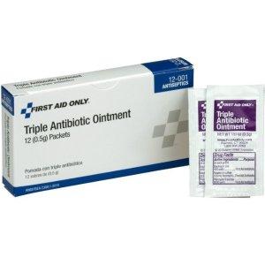$2.08 包邮 家中必备白菜价:First Aid Only 三重抗生素软膏 1盒12包