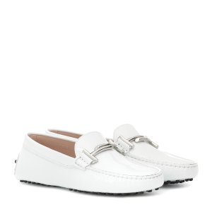 Tod'sGommino patent leather loafers