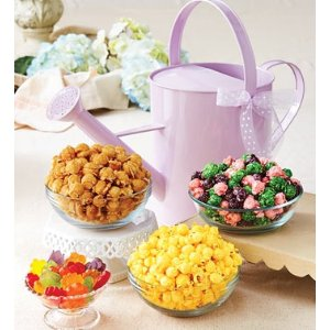 Lavender Watering Can and Snacks from 1-800-FLOWERS.COM