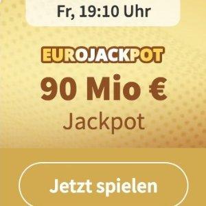没有手续费 快来试试运气奖金累积9000万欧元 EUROJACKPOT 3注只要€2