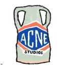 无门槛8折 £112收Logo围巾Acne Studio 加入折扣 收T恤、围巾等