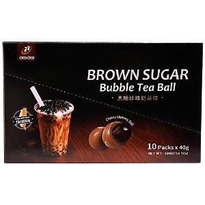 七七乳加黑糖珍珠奶茶球 14.1 OZ