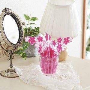 凑单必备 每盒仅$13Elecom 樱花加湿器 10倍自然导水 装饰桌面 在家赏樱